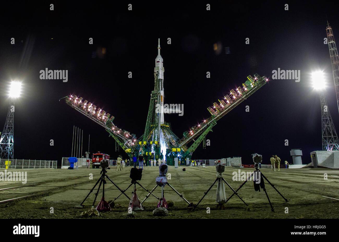 Expedition 40 Preflight - Stock Image
