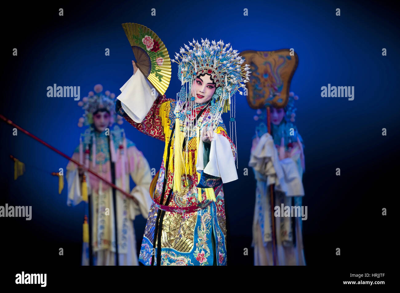 People's Liberation Army Performance Troupe, 2011 - Stock Image