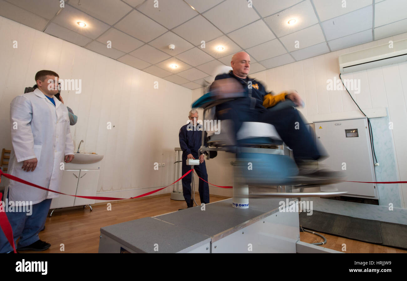 Astronaut Scott Kelly Training - Stock Image