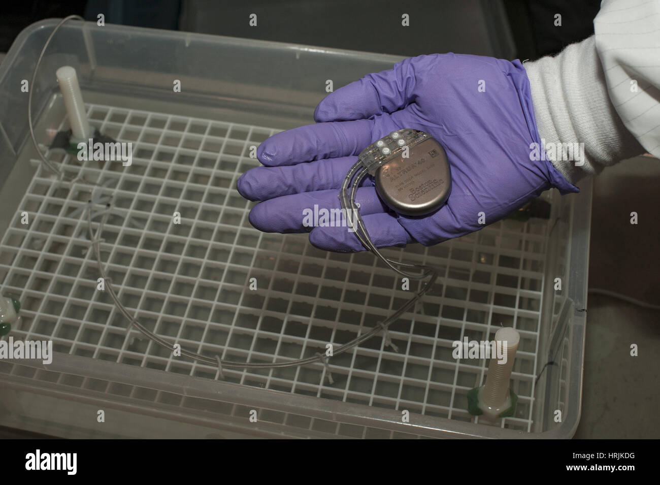 Pacemaker Test, 2015 - Stock Image