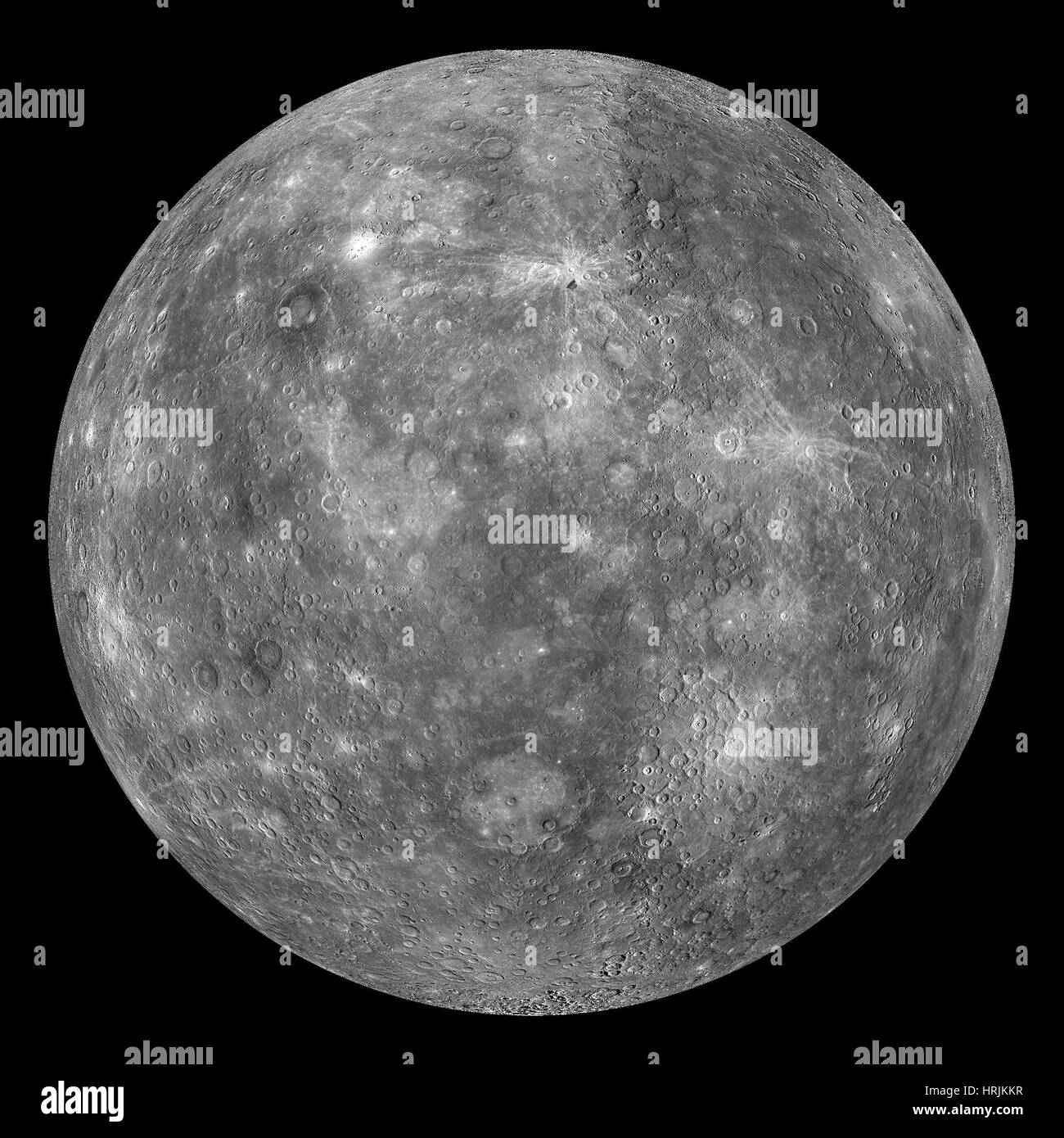 Mercury, MESSENGER Image, 2008 - Stock Image