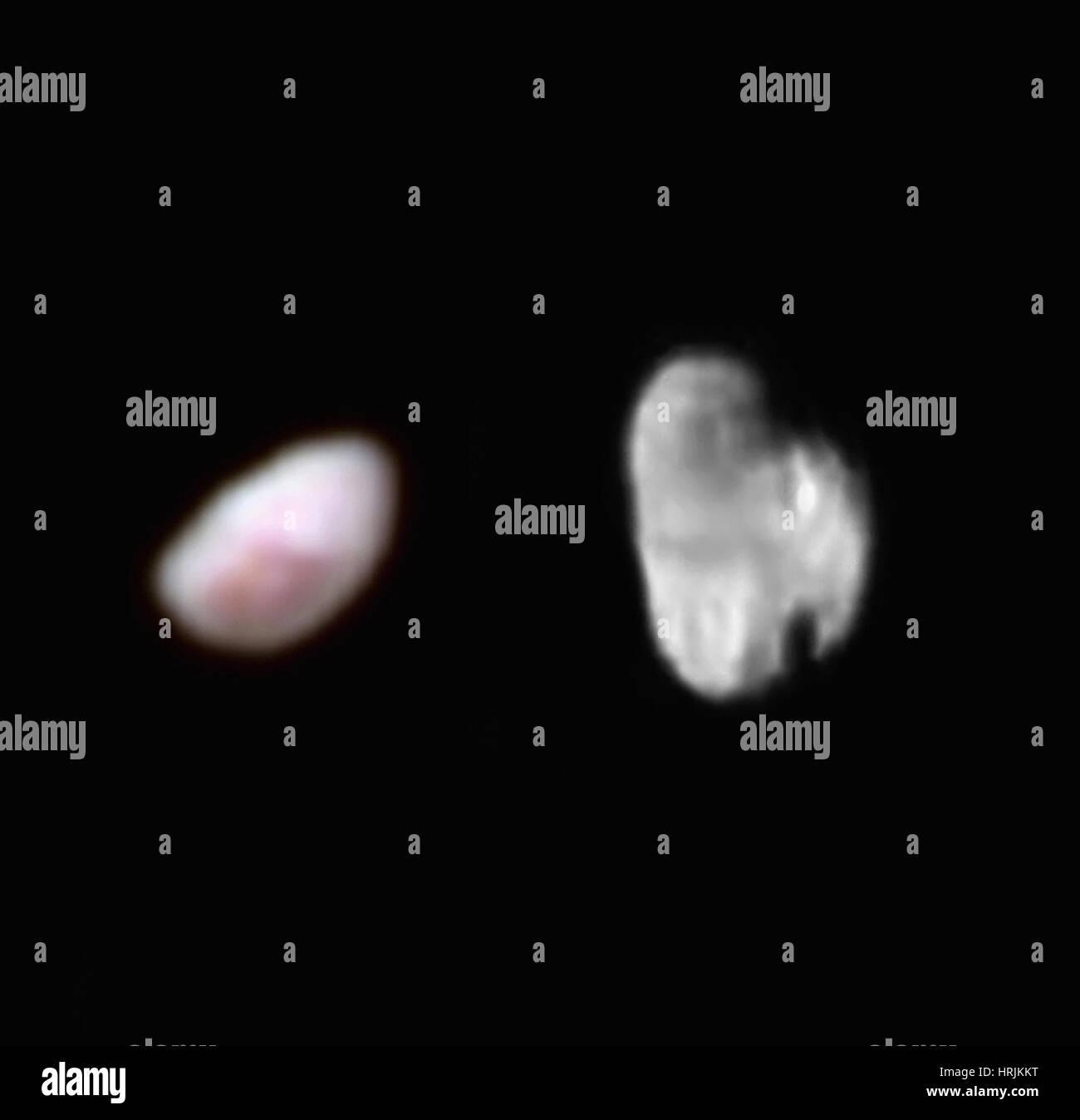 Pluto Moons Nix And Hydra S: Nix Stock Photos & Nix Stock Images