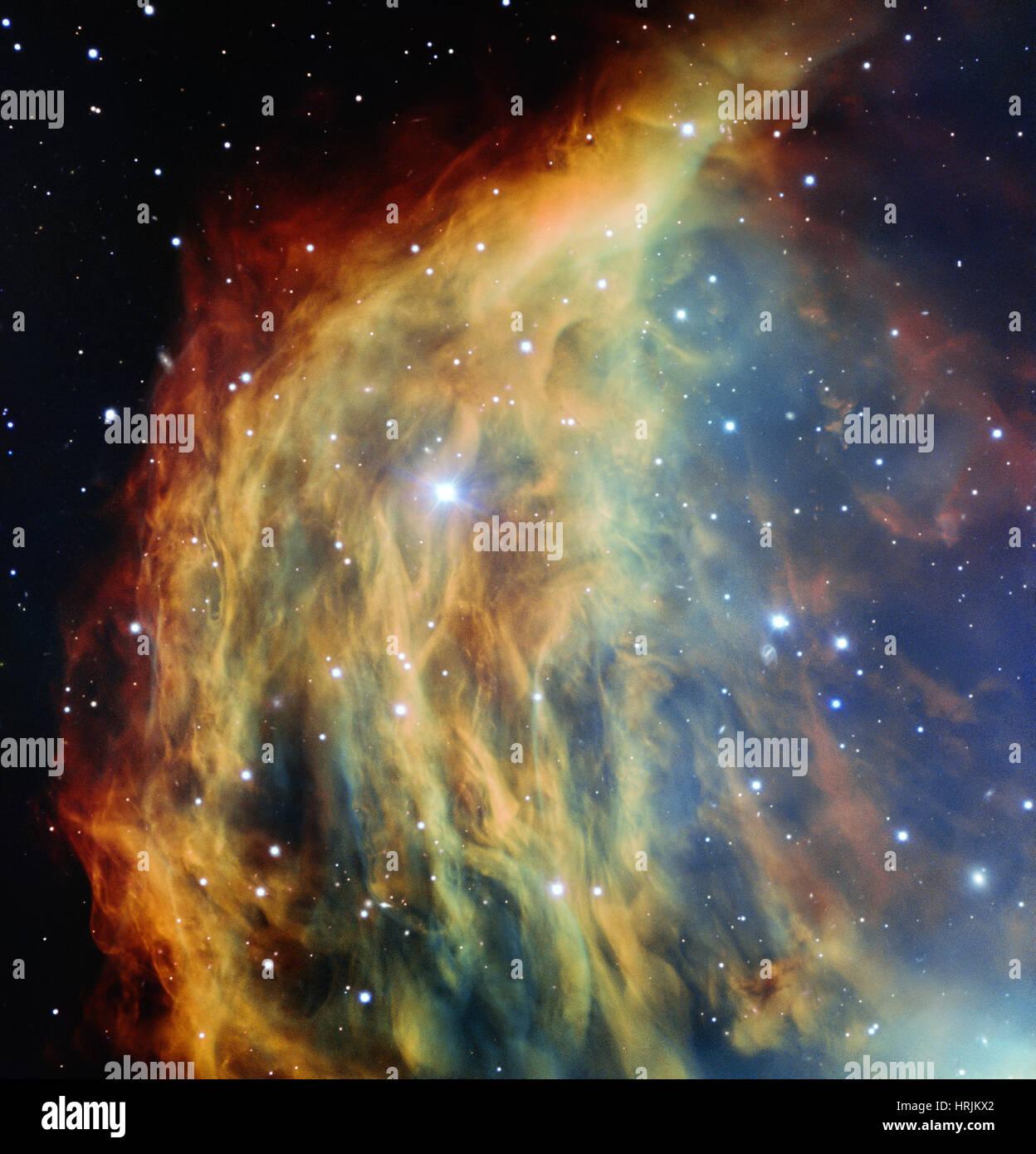 Medusa Nebula, Abell 21, Sh2-274 - Stock Image