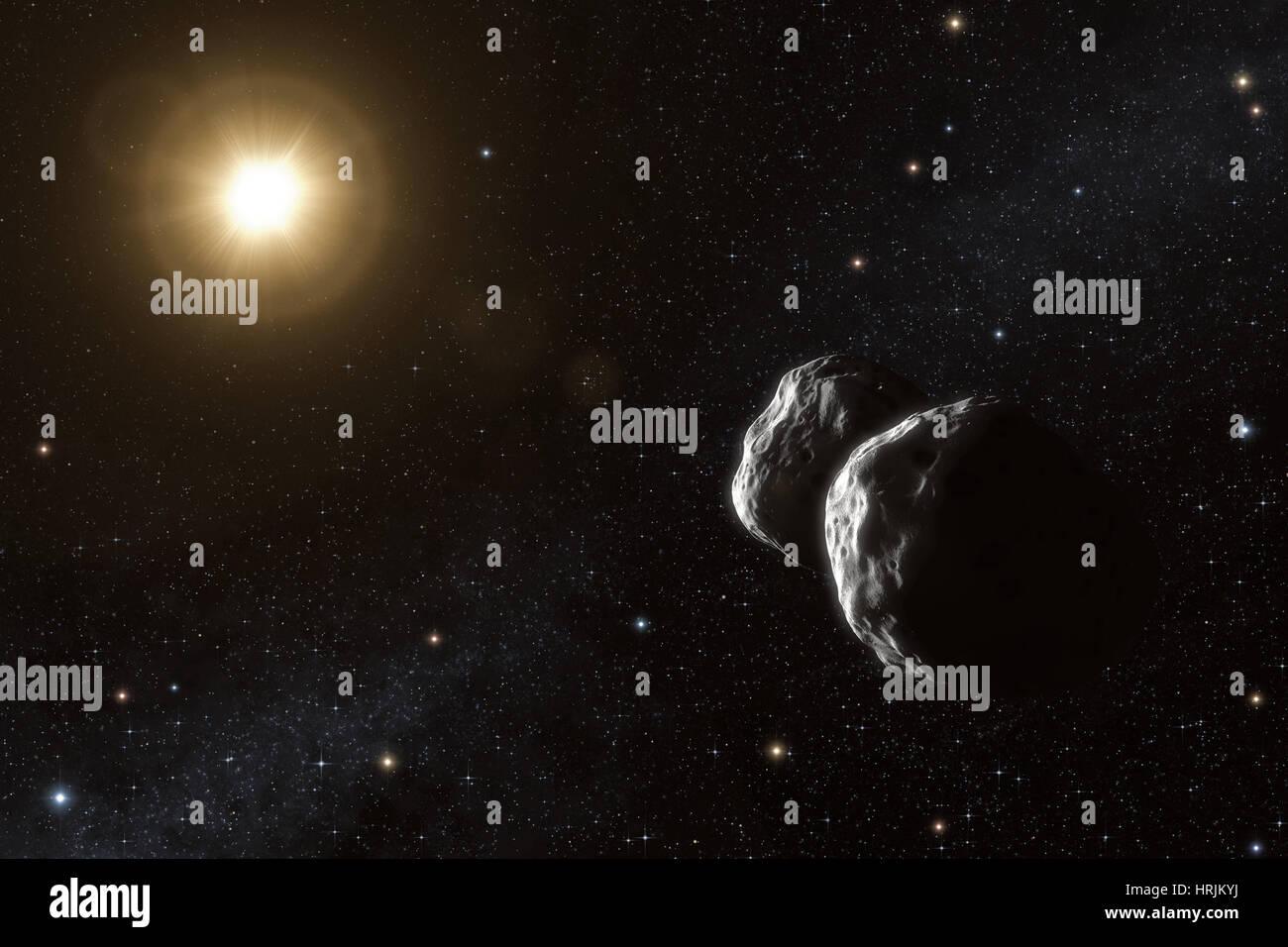 Asteroid, 234 Barbara - Stock Image