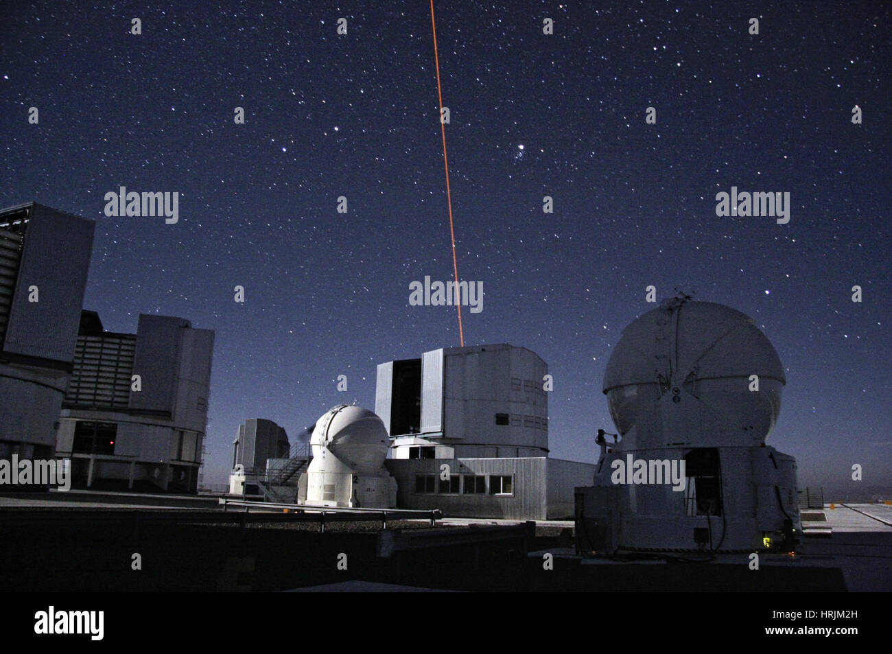 Laser Guide Star, Paranal Observatory Stock Photo: 135020553