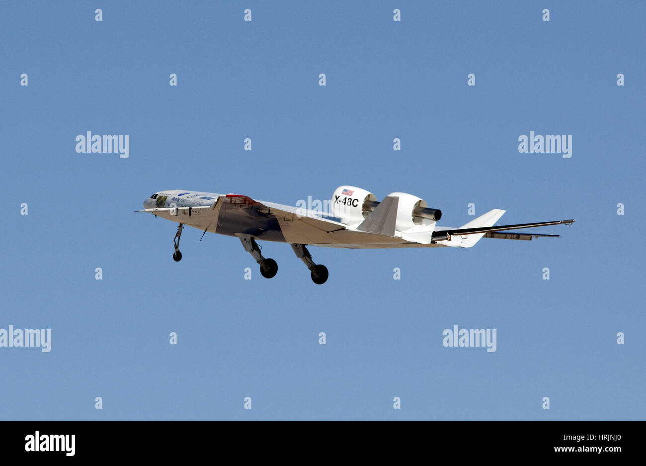 X-48C Blended Wing Body Aircraft, 2012 - Stock Image