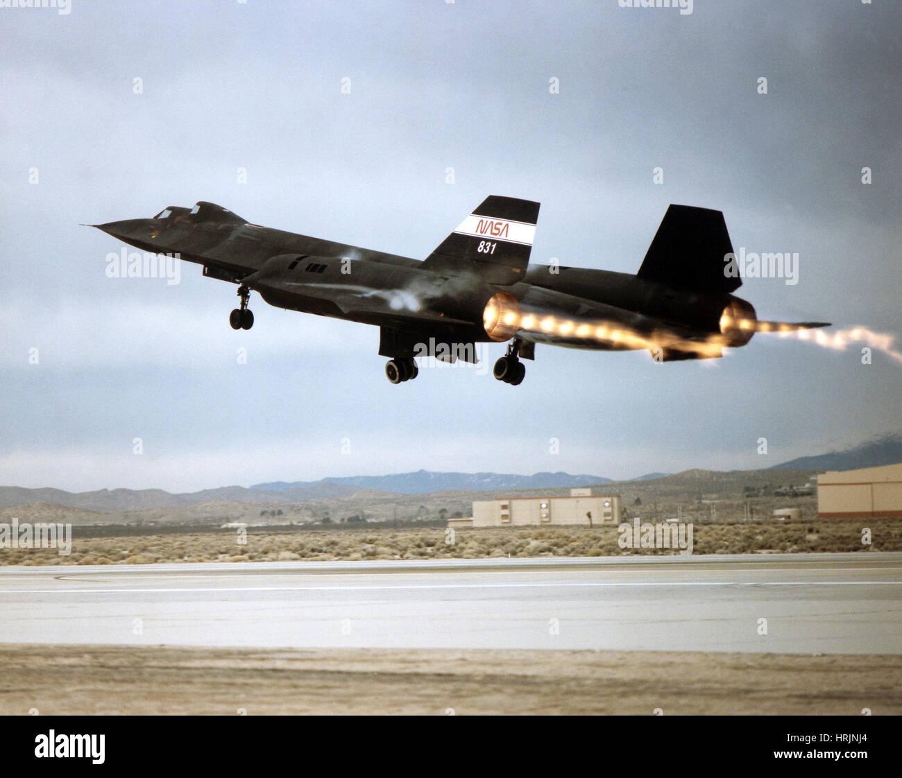 SR-71 Blackbird, 1990s - Stock Image