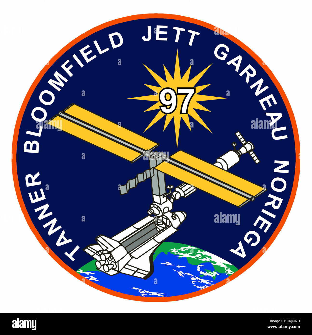 STS-97, Mission Patch, 2000 - Stock Image