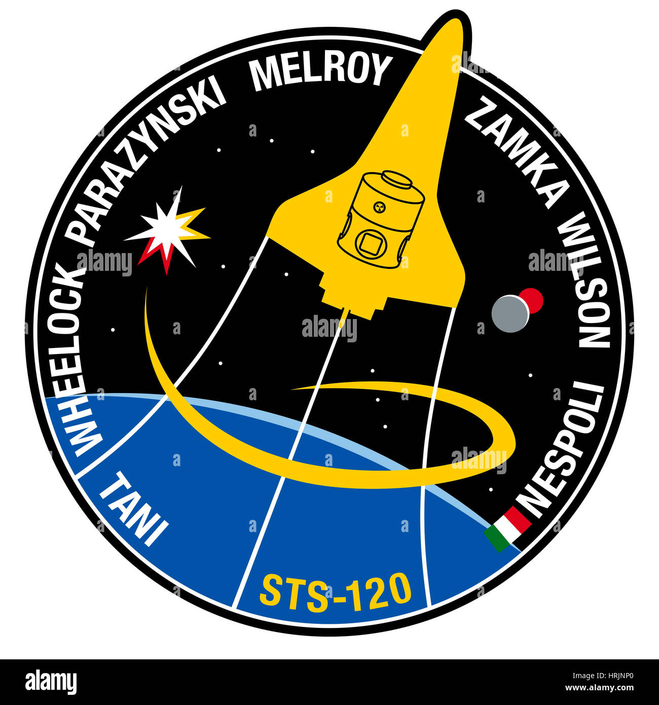 STS-120, Mission Patch, 2007 - Stock Image