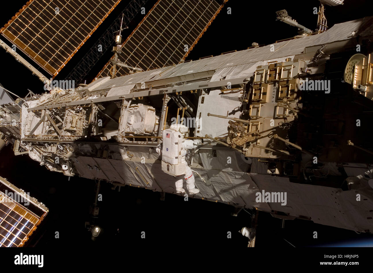 STS-120, ISS Construction, 2007 - Stock Image