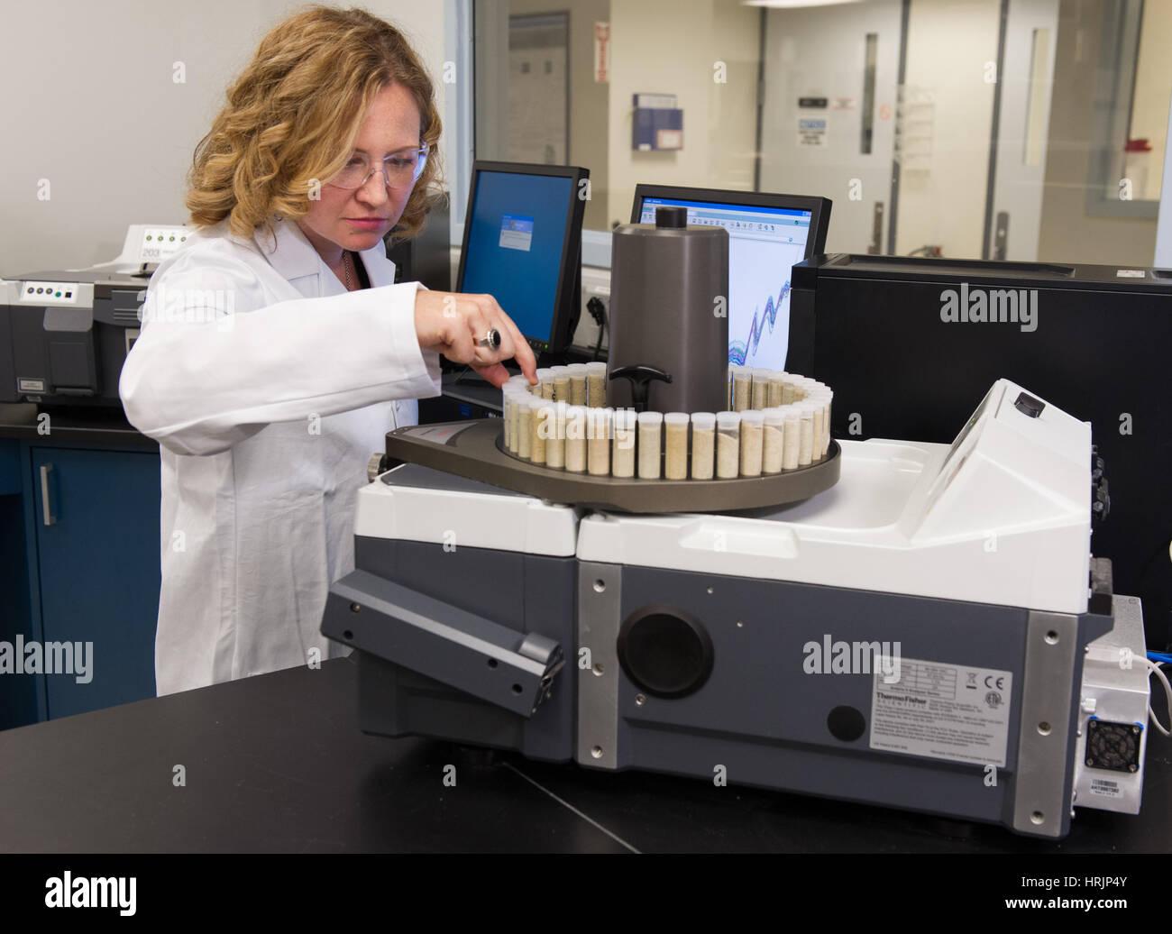 NIR, Biomass Analysis Technology Lab - Stock Image