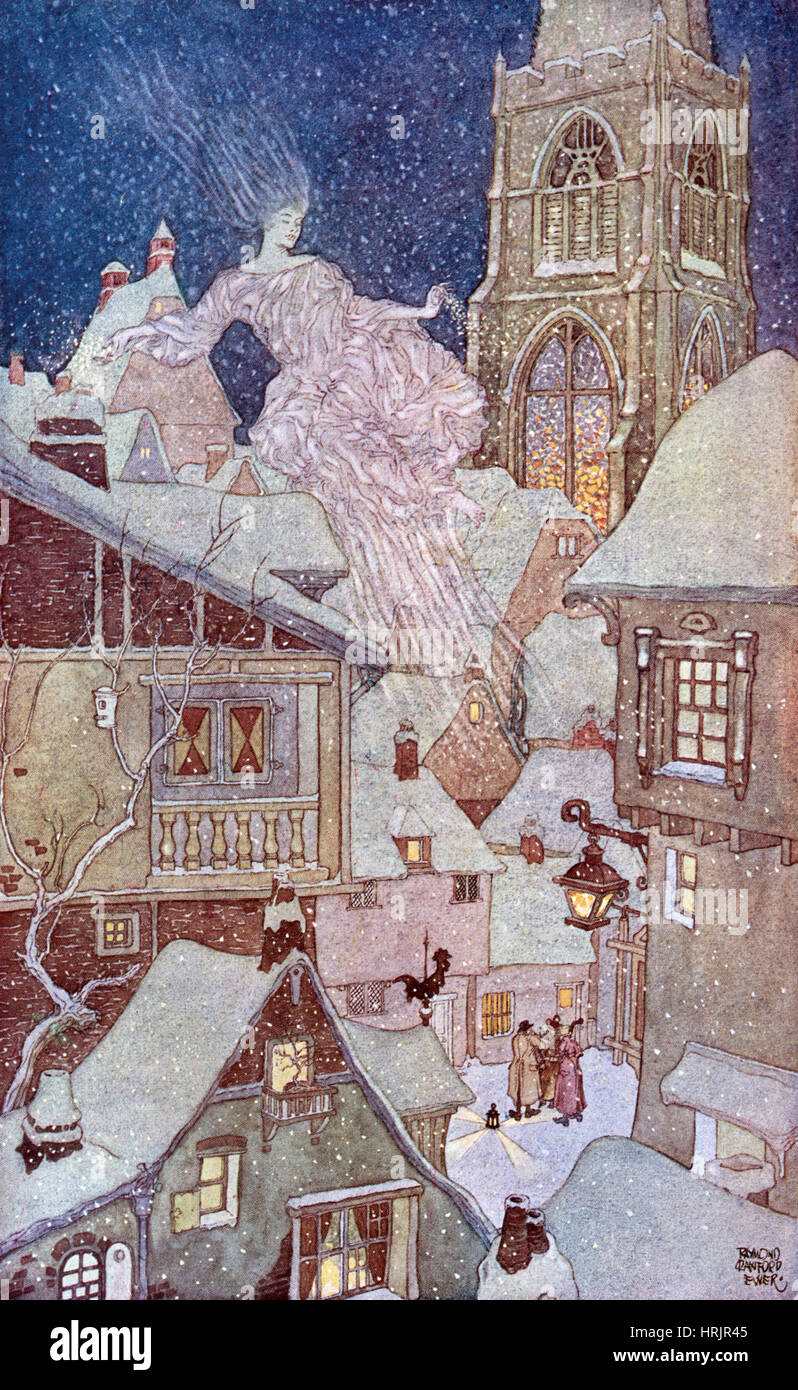 The Spirit of the Snow, 1914 - Stock Image