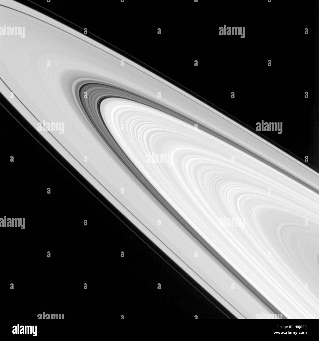 Saturn's Rings - Stock Image
