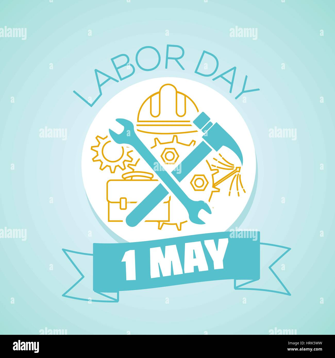 Calendar For Each Day On May 1 Greeting Card Holiday Labor Day