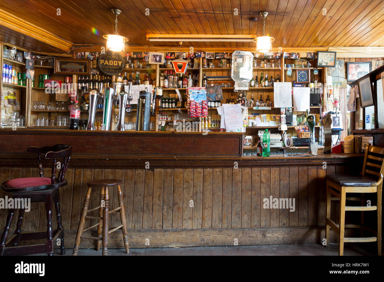 Irish Pub Counter Mike Murt S Cahersiveen County Kerry