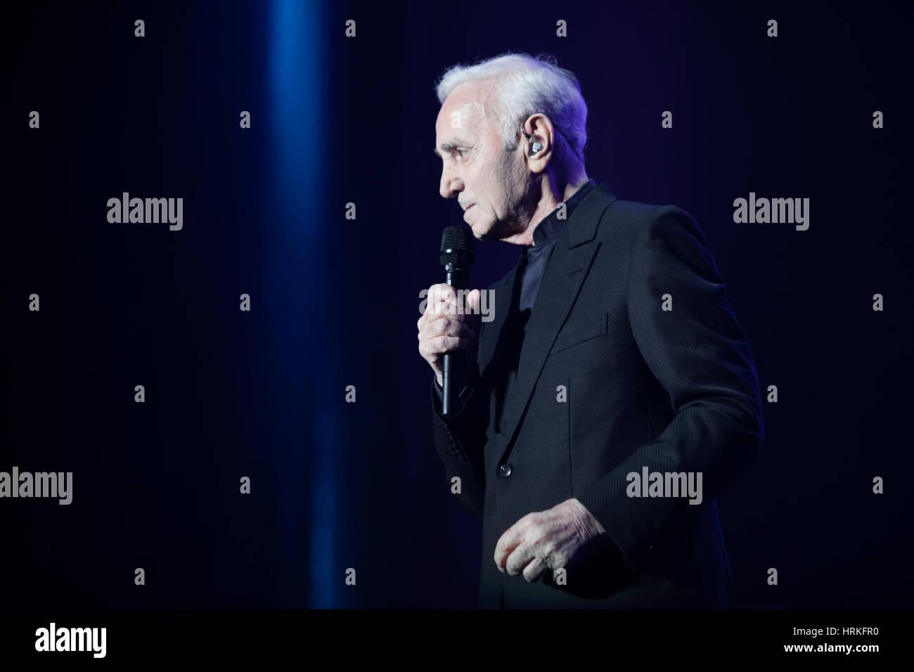 Charles Aznavour Stock Photos & Charles Aznavour Stock