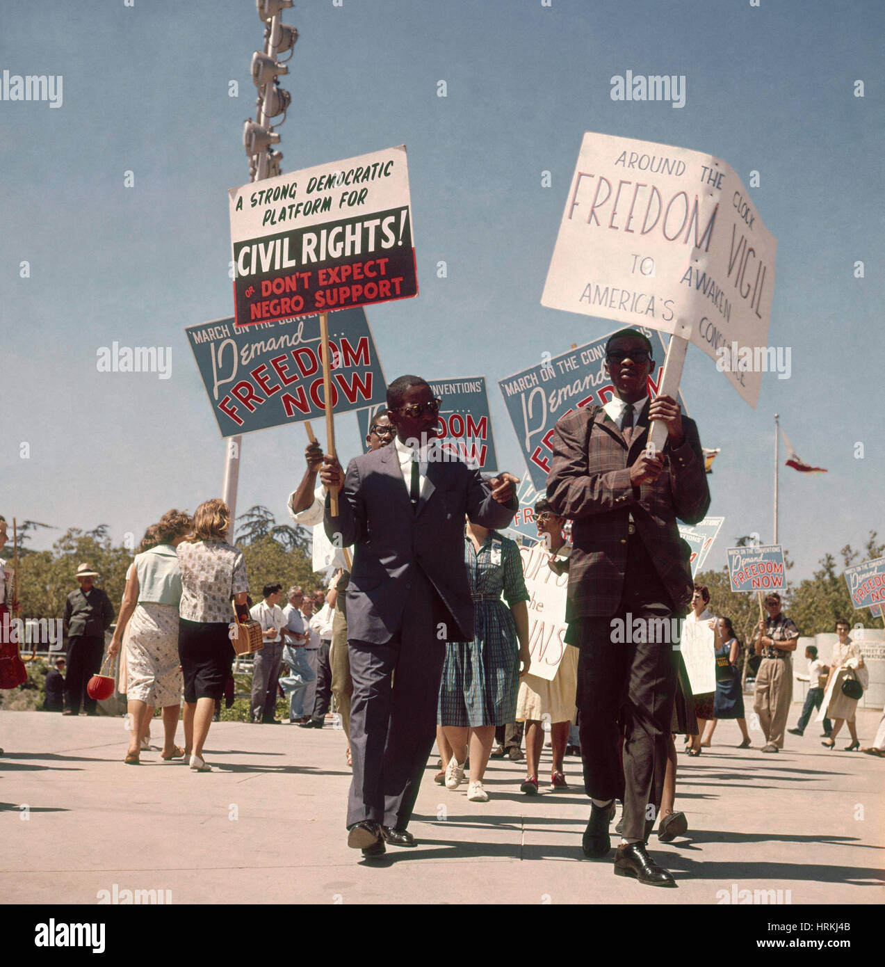 Civil Rights March - Stock Image