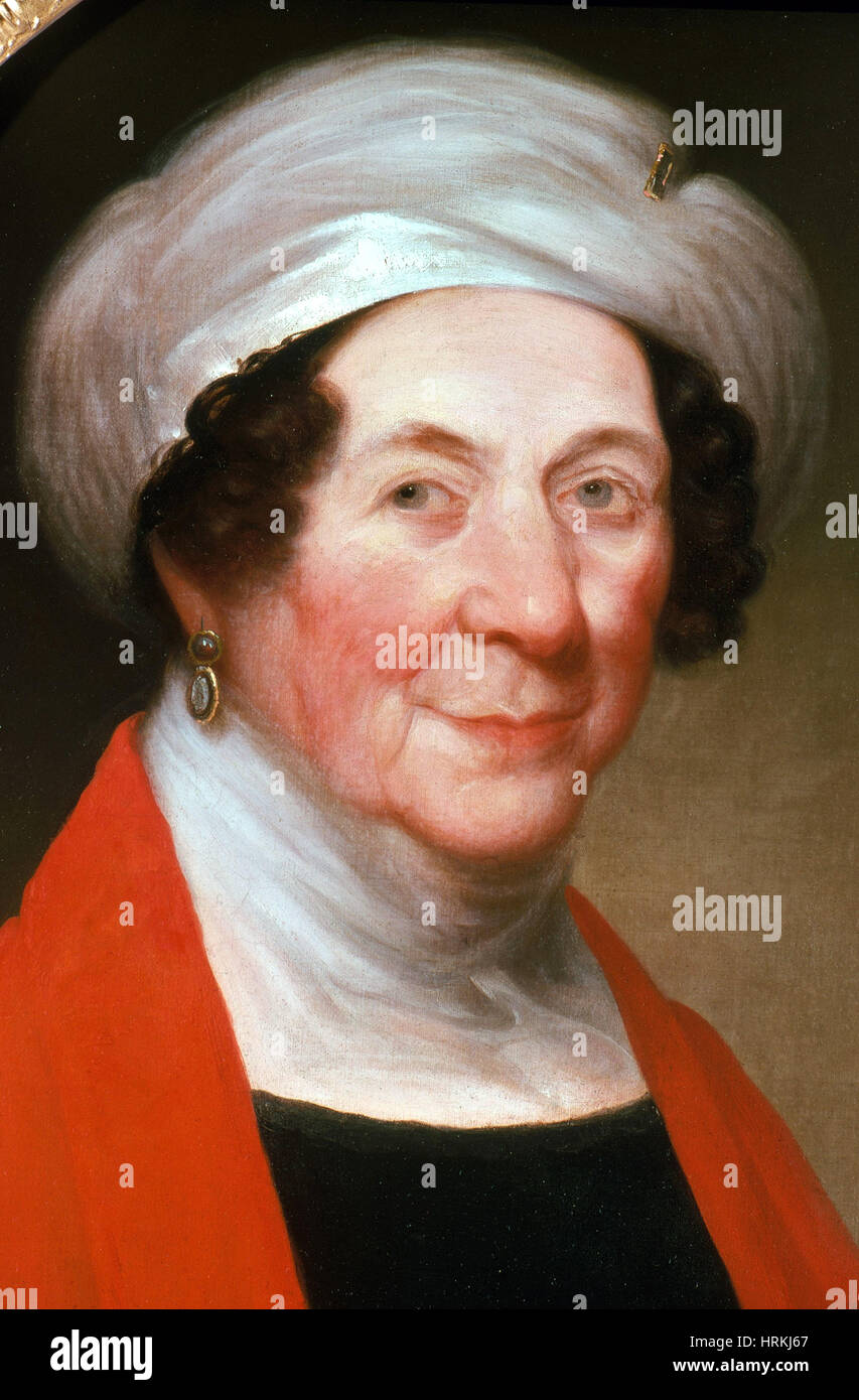 Dolley Madison, First Lady - Stock Image