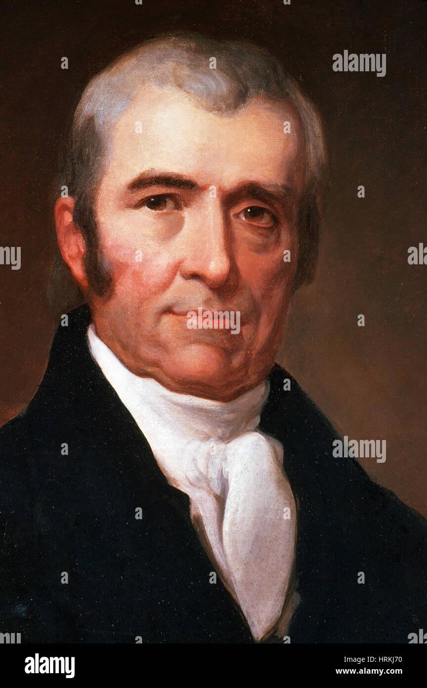 John Marshall, 4th Chief Justice, Supreme Court - Stock Image
