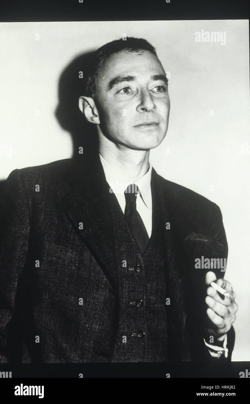 J Robert Oppenheimer American Physicist Stock Photo