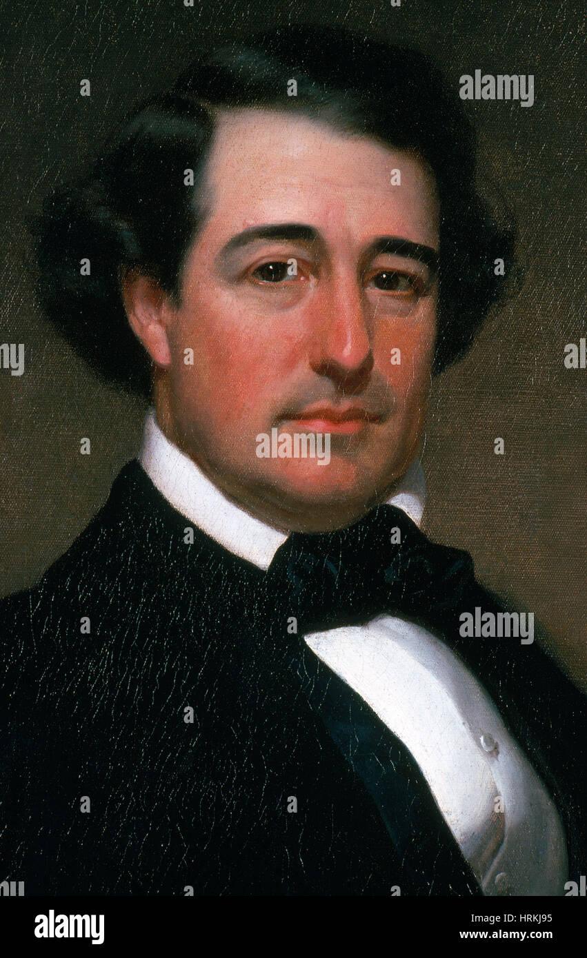 Millard Fillmore, 13th U.S. President Stock Photo
