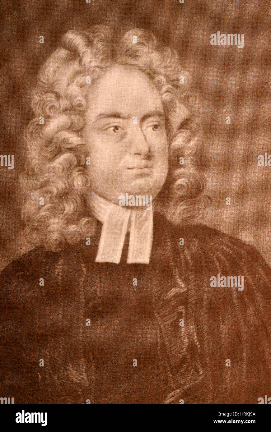 Jonathan Swift, Irish Author - Stock Image