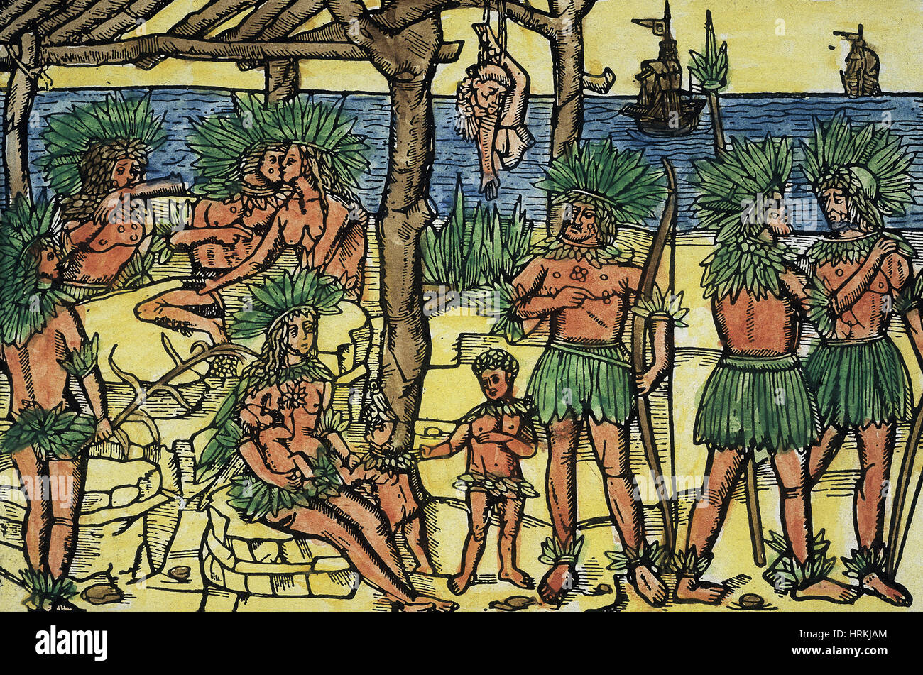 Red Indians as Cannibals, 1494