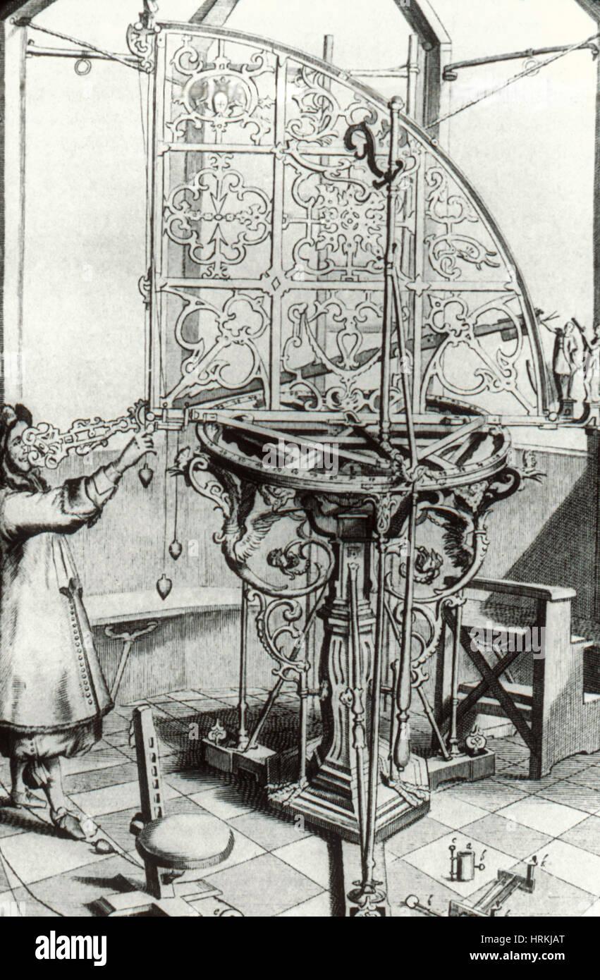 Quadrant, 17th Century - Stock Image