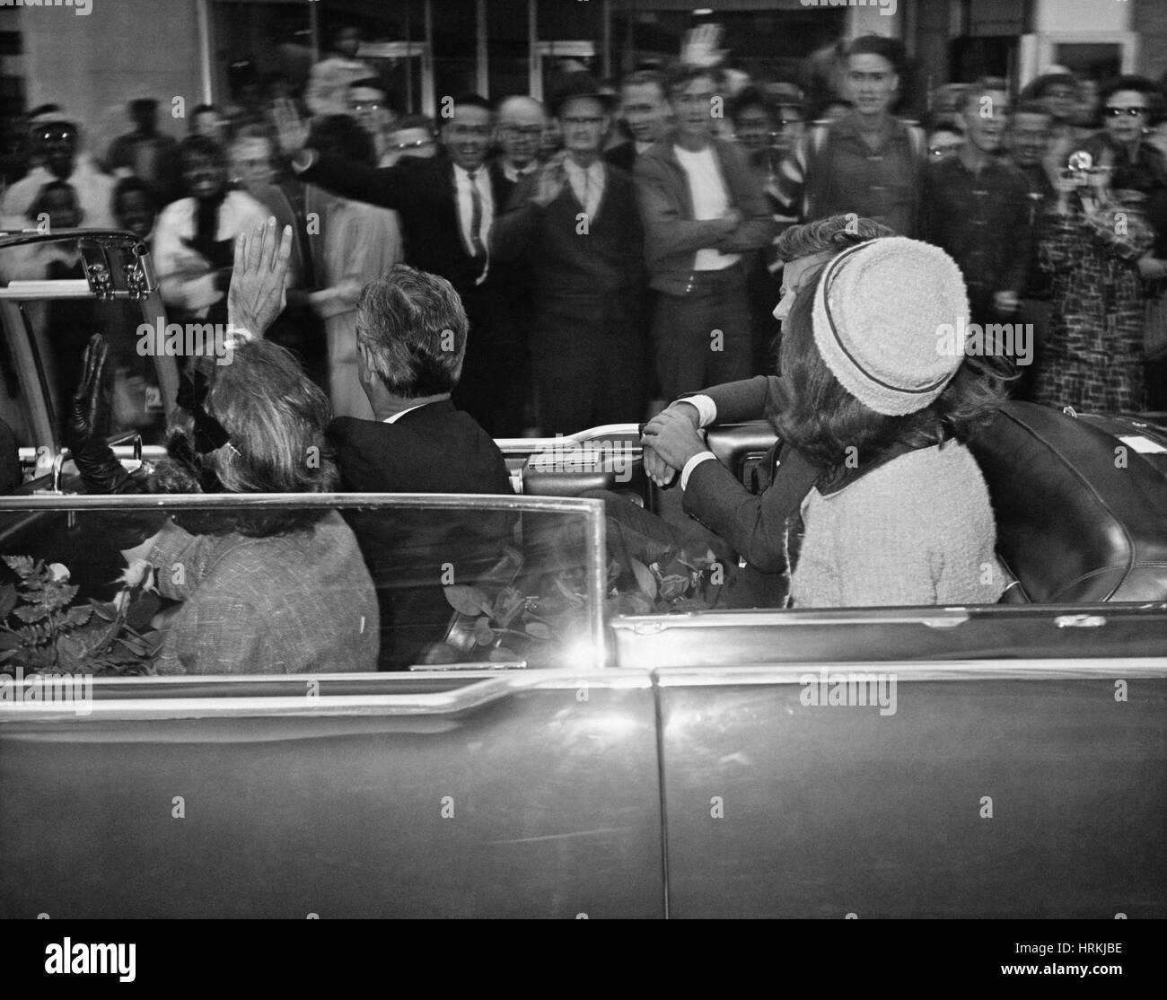 Kennedy Assassination, 1963 - Stock Image