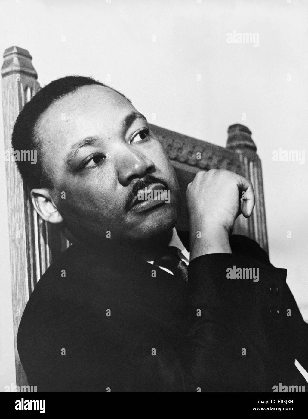 Martin Luther King, Jr., Civil Rights Leader Stock Photo