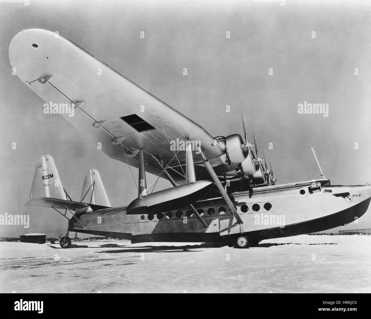 Sikorsky S-42 - Stock Image