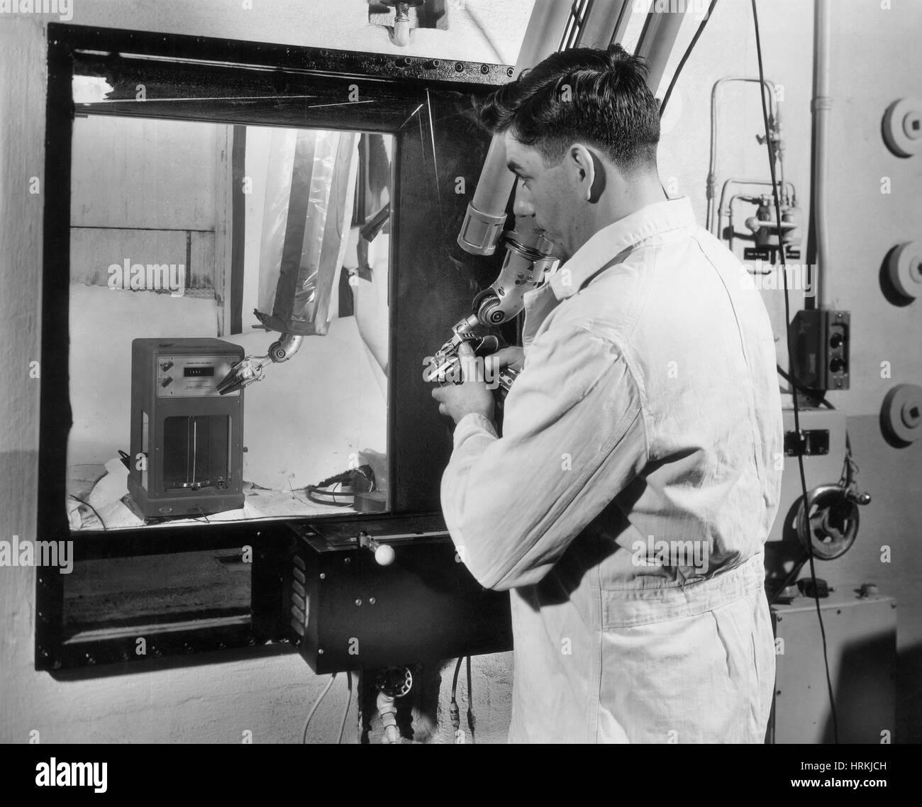 Atomic Technician - Stock Image