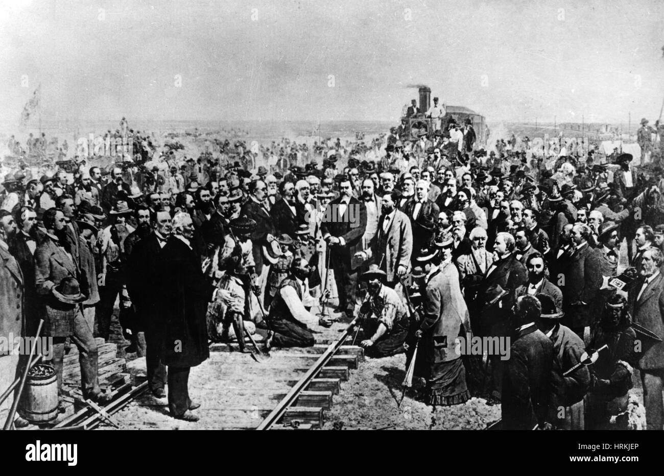 Golden Spike Ceremony, 1869