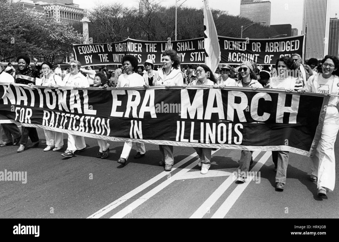 equal rights amendment march stock photo 135041323 alamy