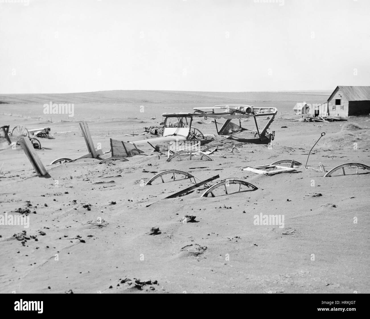 Dust Bowl - Stock Image