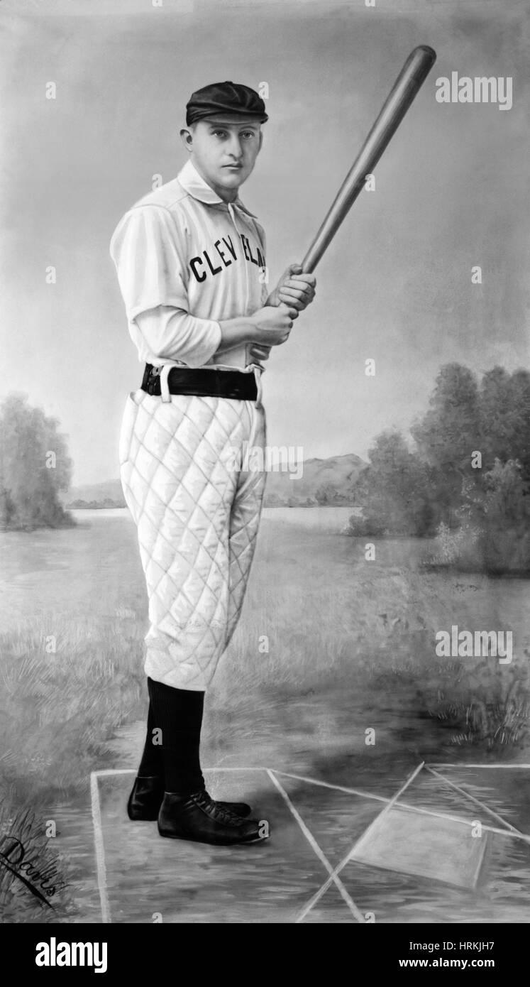 Jesse Burkett, MLB Player - Stock Image