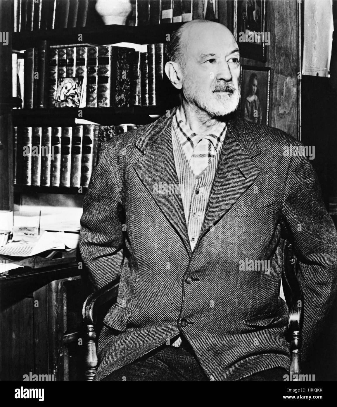 Charles Edward Ives, American Composer - Stock Image