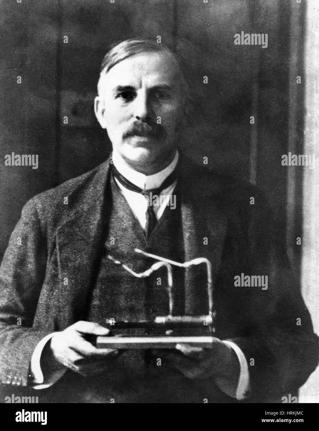 Ernest Rutherford, New Zealand Physicist Stock Photo