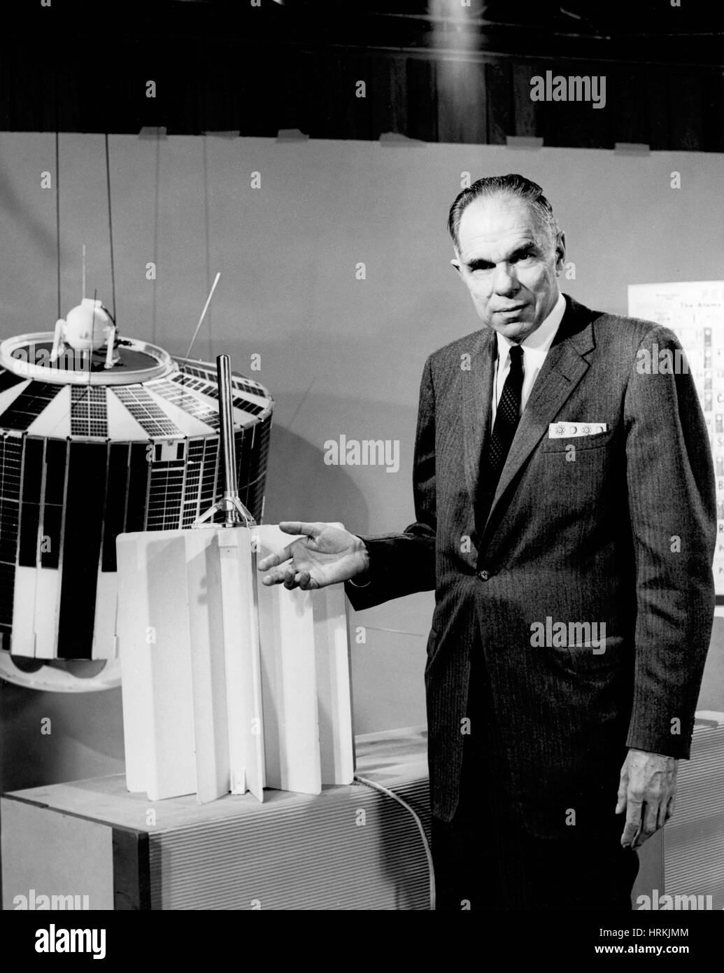 Glenn T. Seaborg, American Nuclear Chemist Stock Photo - Alamy