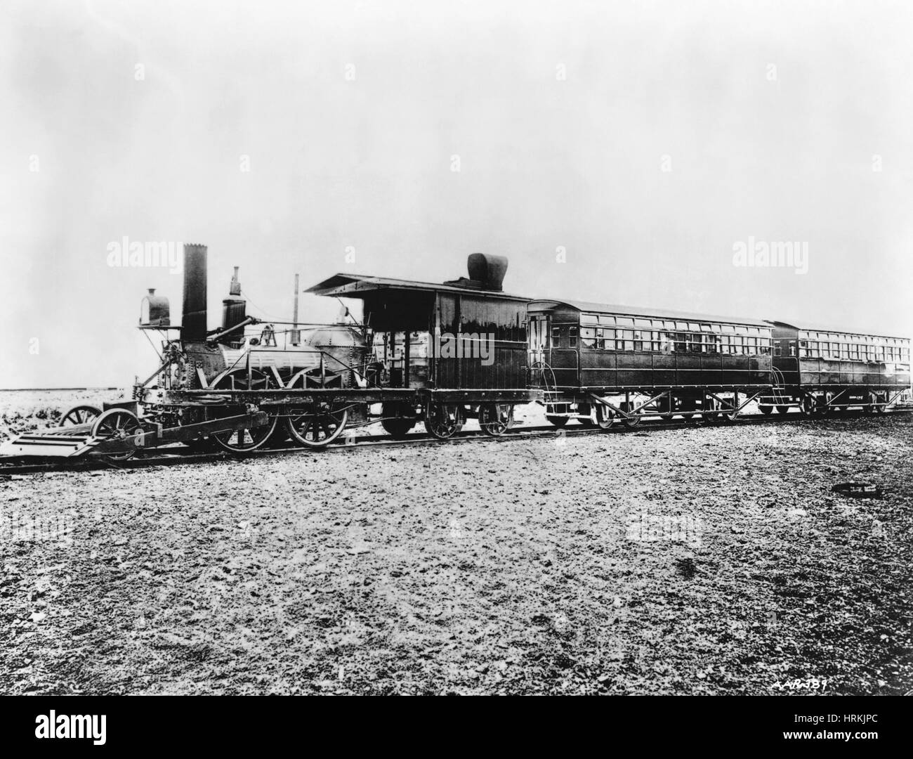 19th Century 'John Bull' Locomotive - Stock Image
