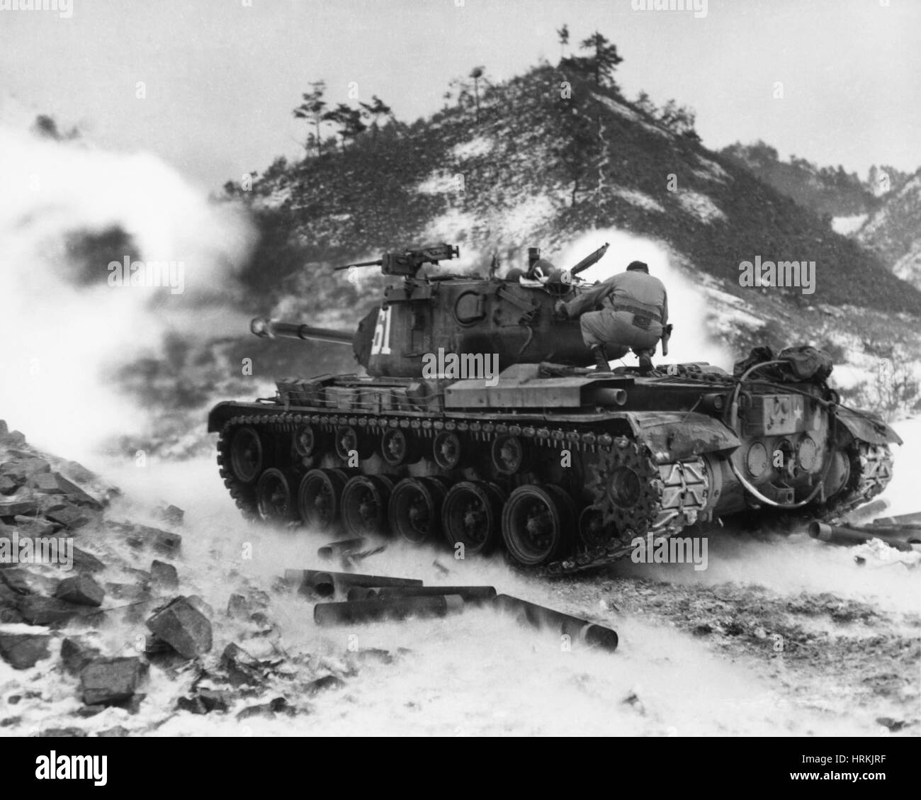 Korean War 1952 Stock Photo 135041523