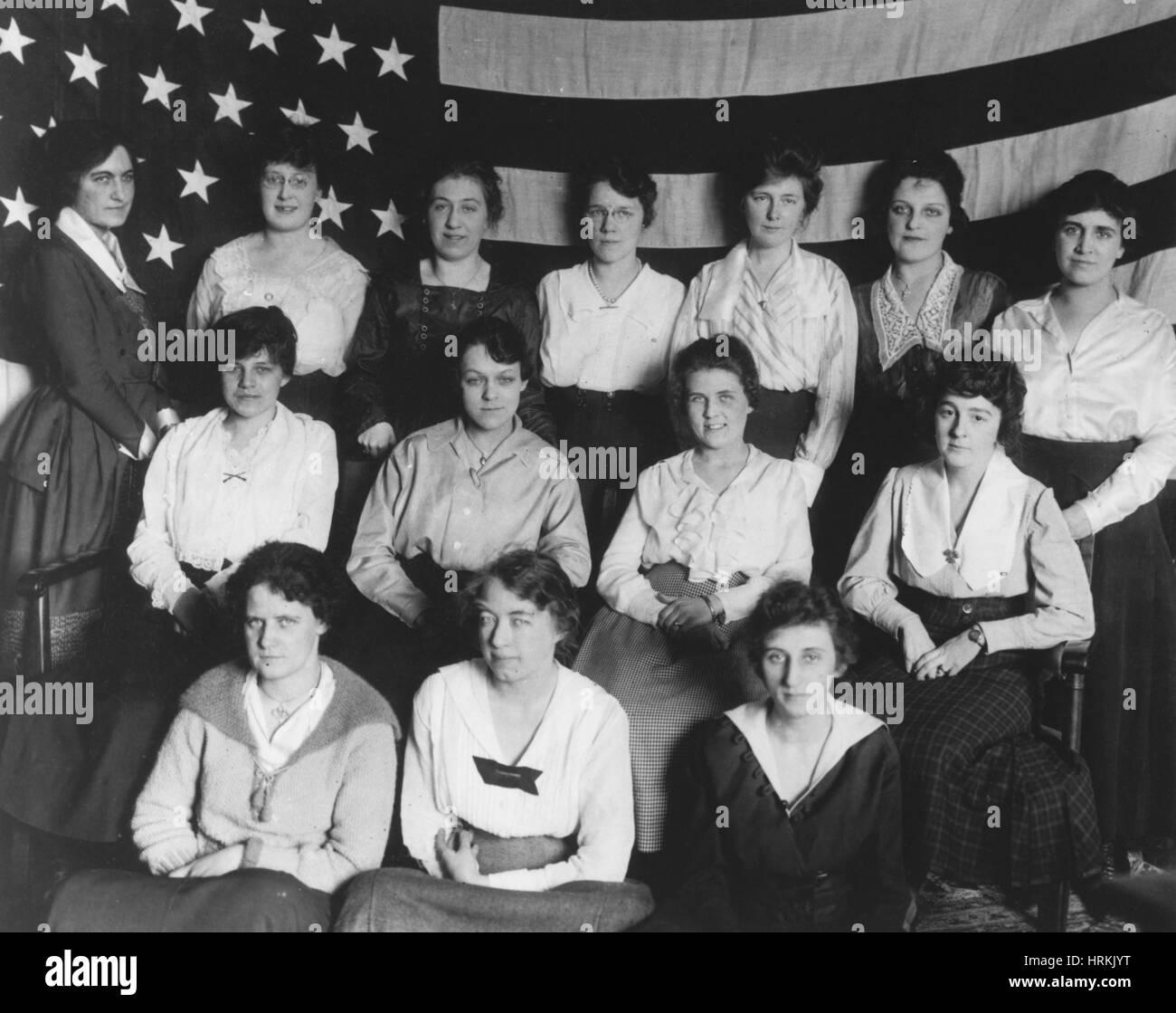 WWI, War Brides - Stock Image