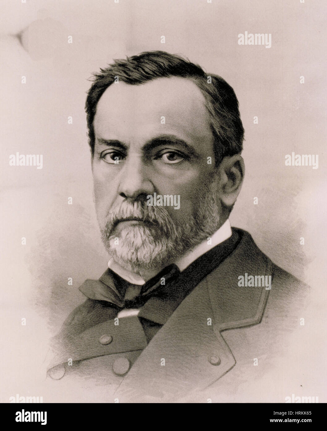 Louis Pasteur, French Chemist and Bacteriologist - Stock Image