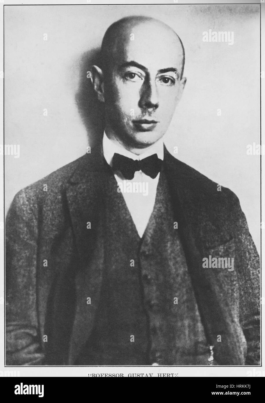 Gustav Ludwig Hertz, German Physicist - Stock Image