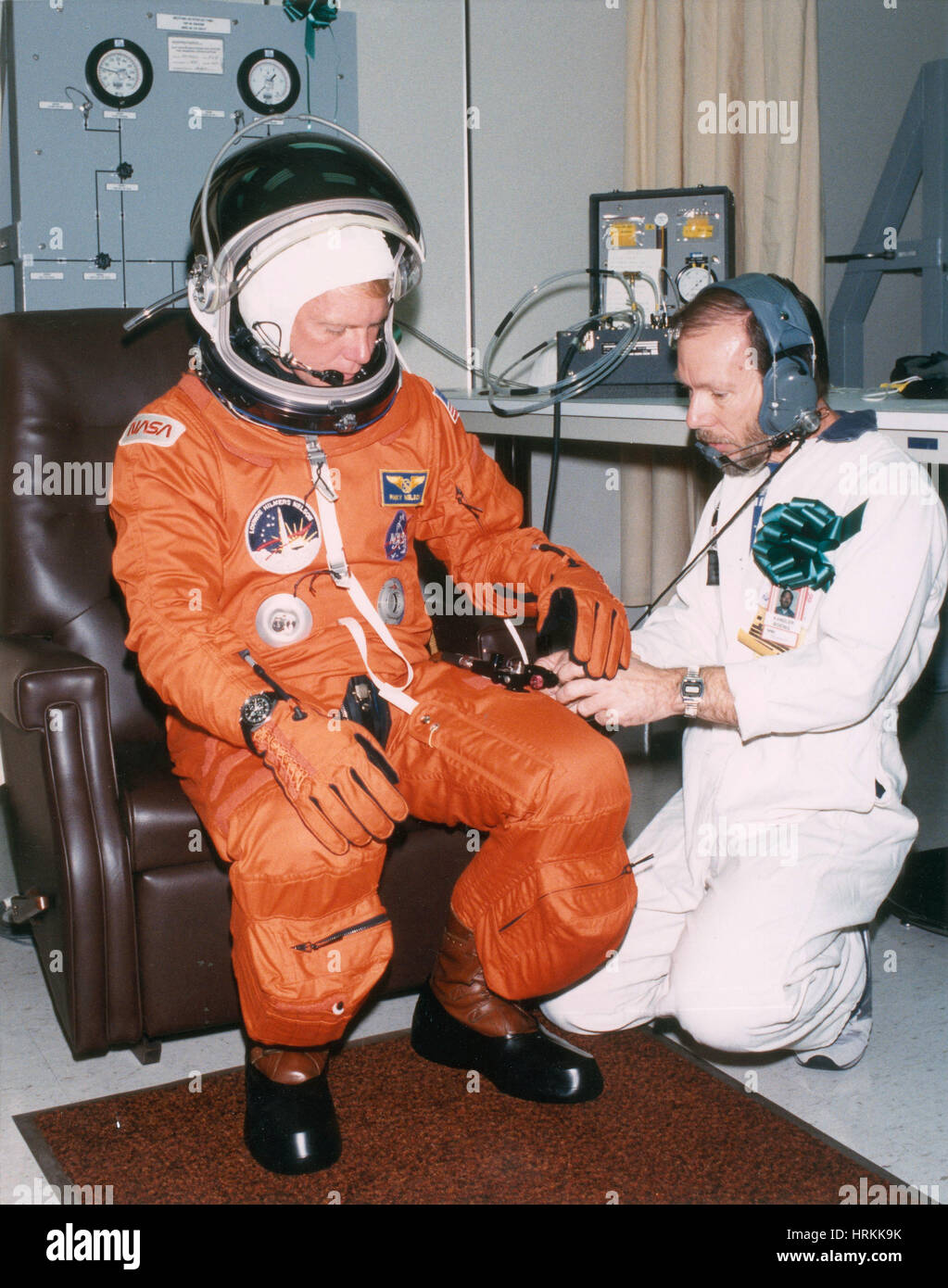 Mission Specialist George 'Pinky' Nelson - Stock Image