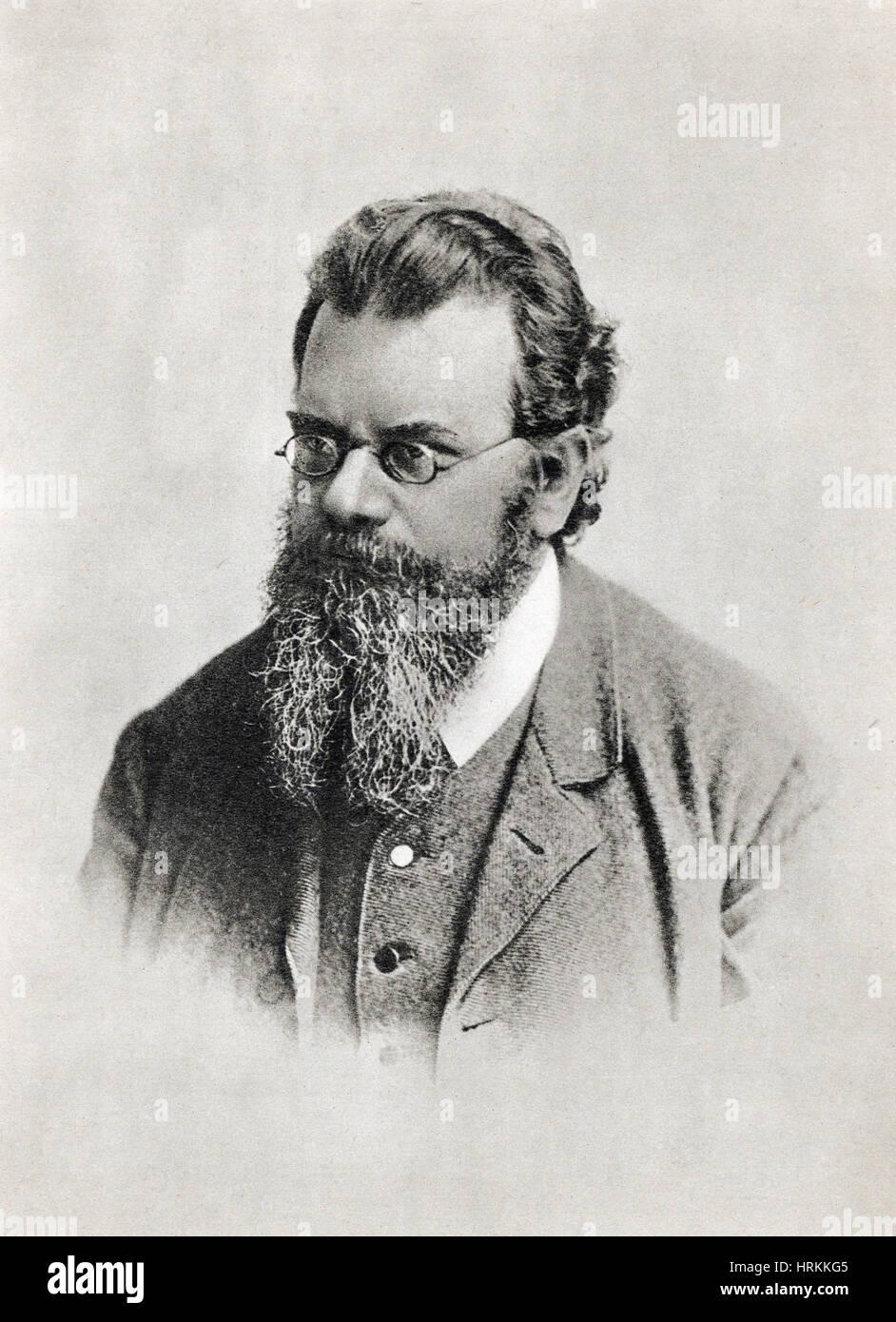 Ludwig Boltzmann, Austrian Physicist - Stock Image