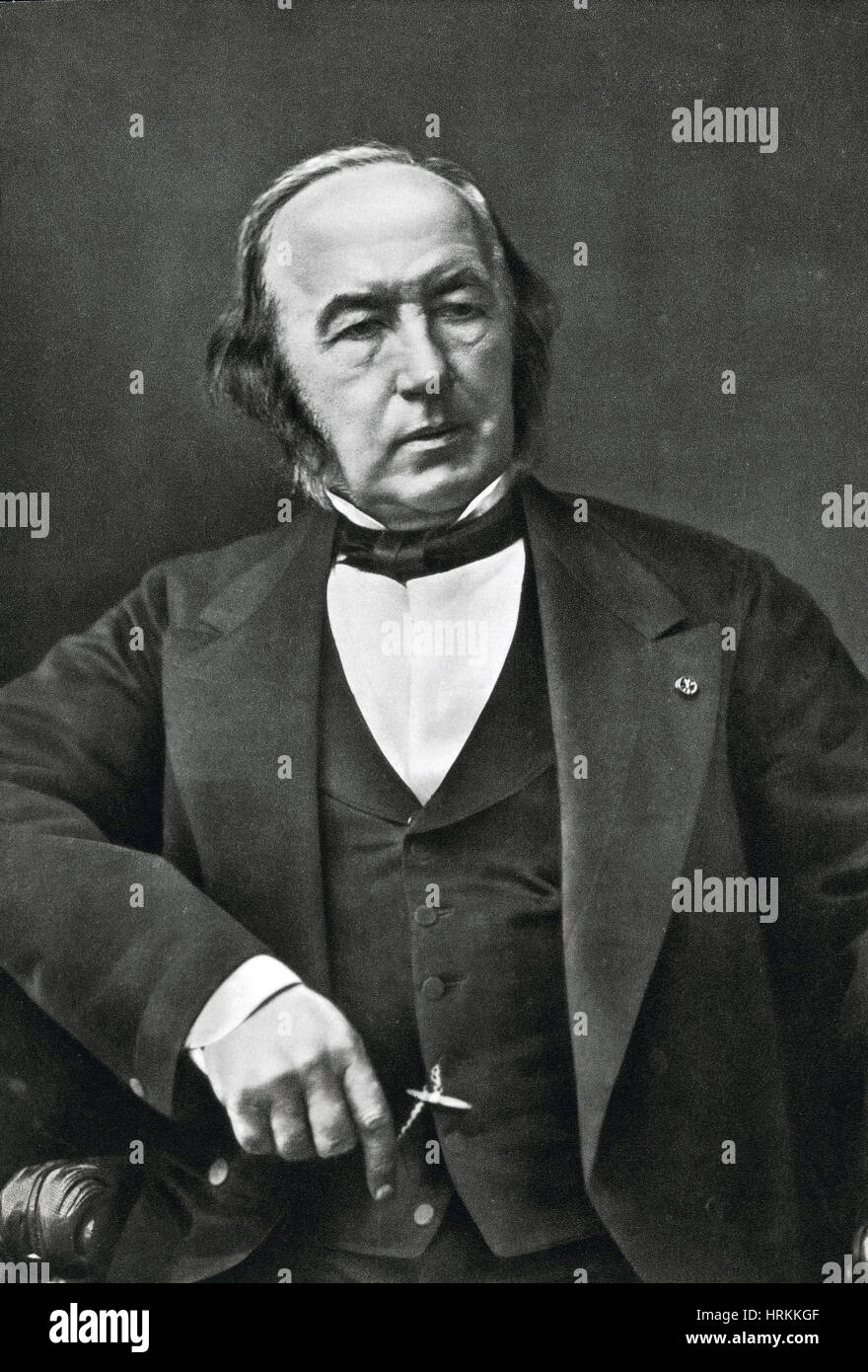 Claude Bernard, French Physiologist - Stock Image