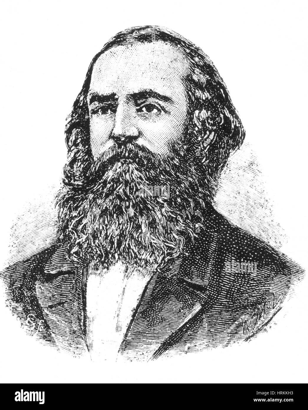 John McDouall Stuart, Scottish Explorer - Stock Image