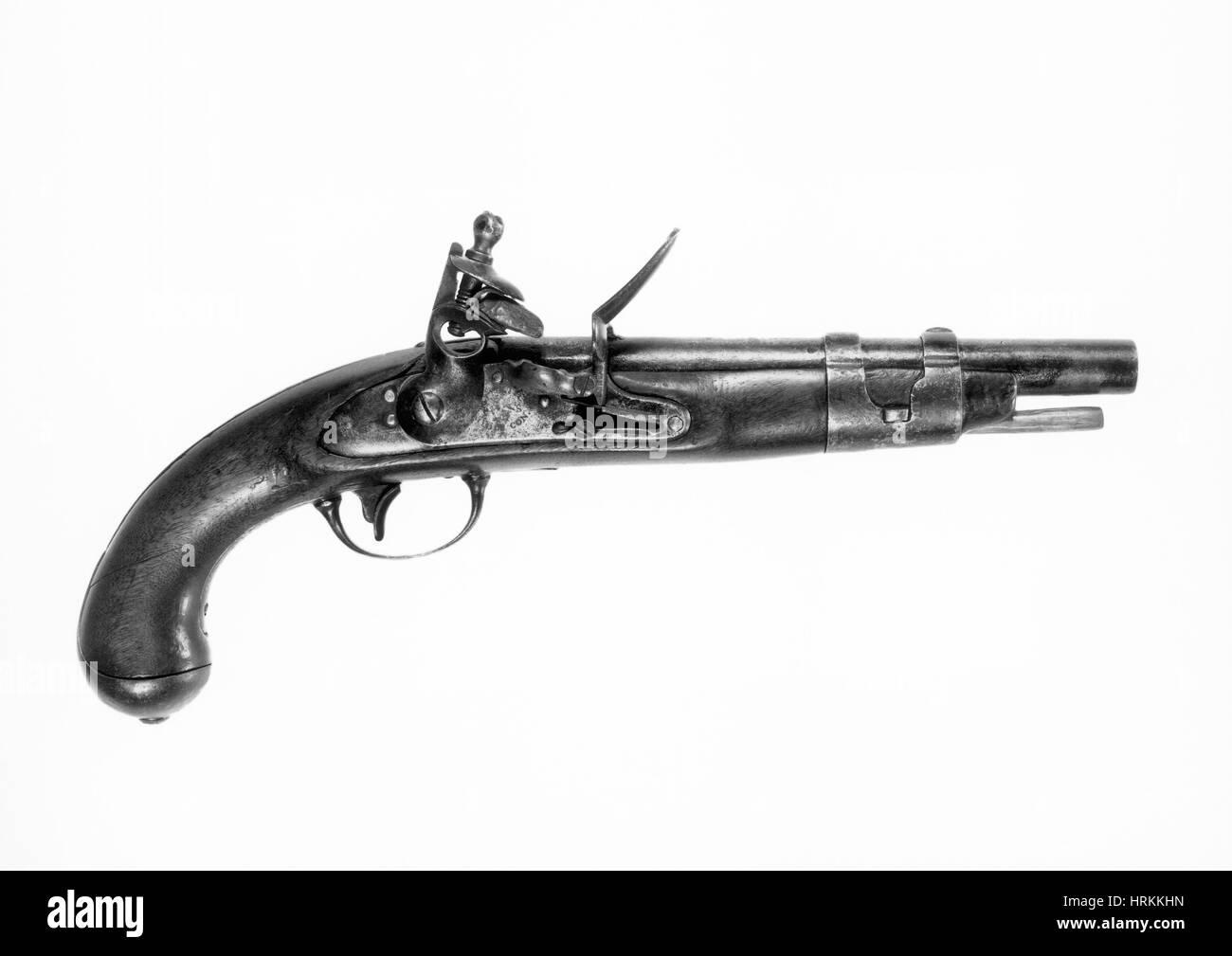 U.S. North Model 1816 Pistol Stock Photo
