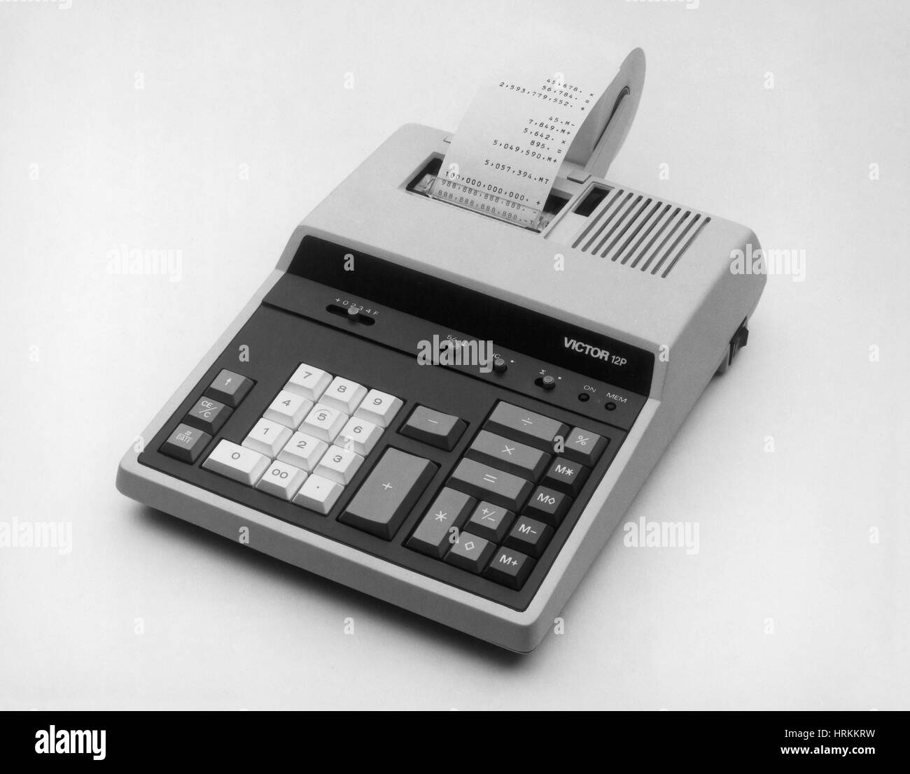 Adding Machine - Stock Image